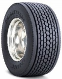Super single tire with TPMS