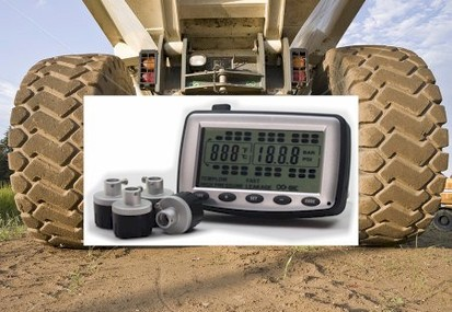 Mine Truck Tire Pressure Monitoring